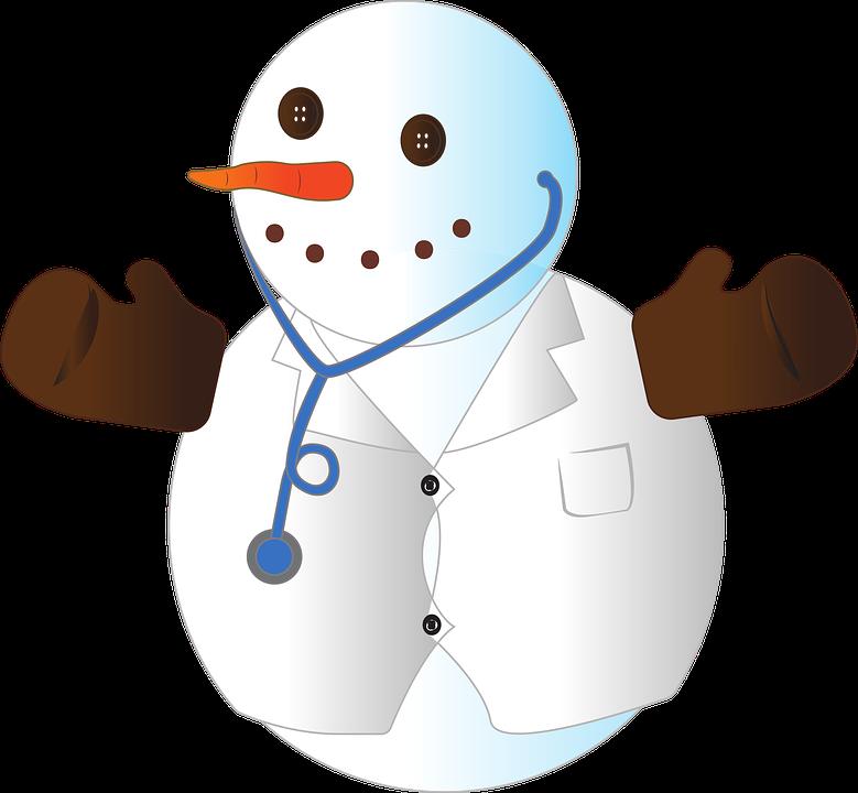 Schneemann Weihnachten Arzt · Kostenlose Vektorgrafik auf Pixabay