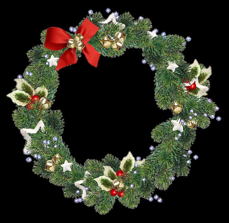 Wreath, Christmas Wreath, Christmas Decoration, Decor
