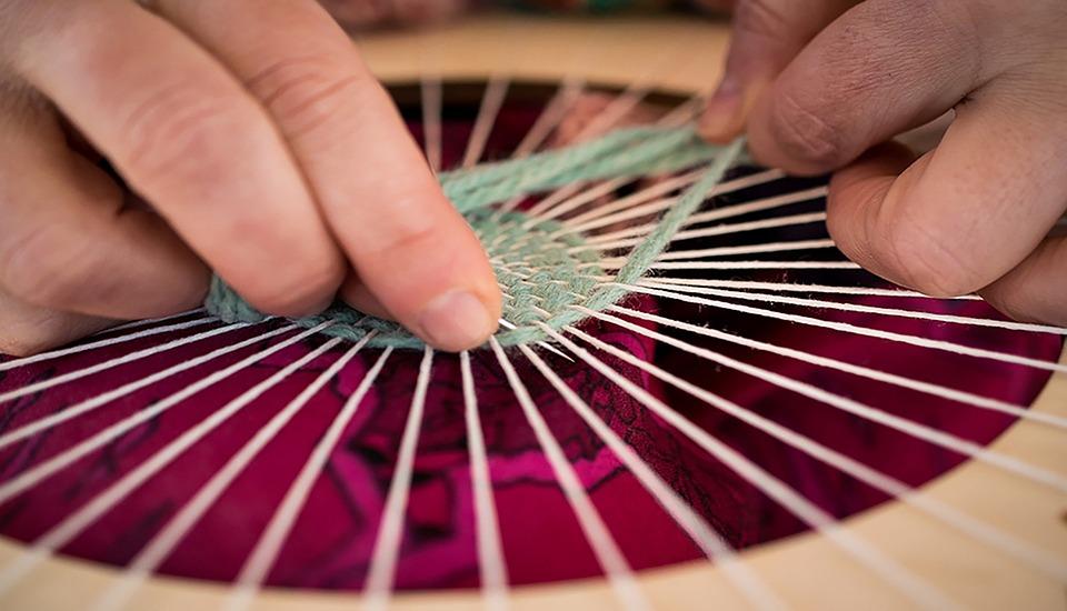 Frame, Weaving, Lana, Thread, Handmade, Threads