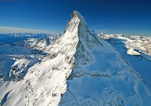 Matterhorn, Mountain, Berggipifel