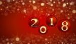 new year, card