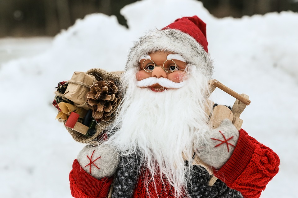 Santa, Winter, Schnee, Weihnachten, Kälte, Frost