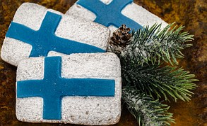 Free photo: Flag Of Finland, Blue Cross Flag - Free Image on Pixabay - 201175