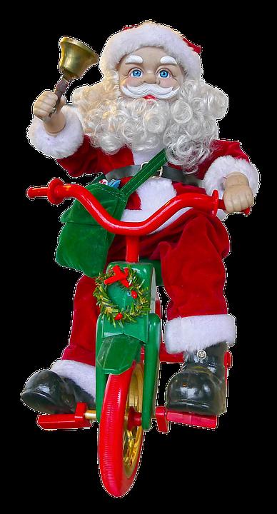 Babbo Natale In Bicicletta.Babbo Natale Bici Bell Foto Gratis Su Pixabay