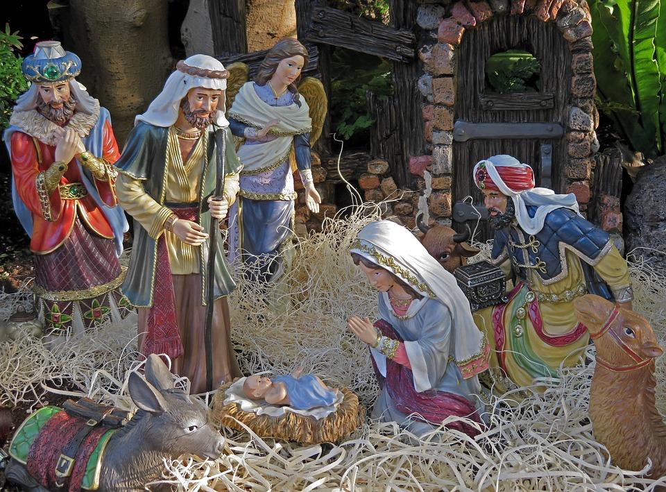 Nativita Natale Immagini.Nativita Natale Gesu Bambino Foto Gratis Su Pixabay