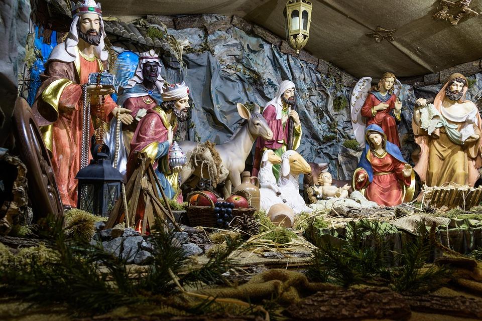 Humanos, Religión, Cuna, Escena De La Natividad, Jesús