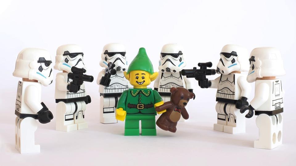 レゴ, 嵐, 警察官, 妖精, エルフ, クリスマス, テディ, クマ, 小隊, 代表, 星, 戦争, 帝国