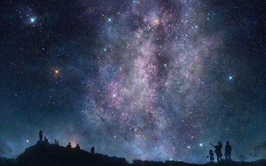 La Astronomía, Galaxy, Espacio