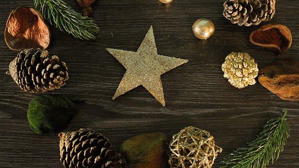 Noël, Étoile, L'Arrivée De La, Le Temps