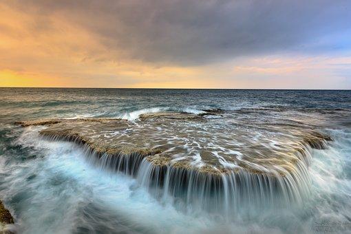 Mar, Océano, El Flujo De, Arrecife