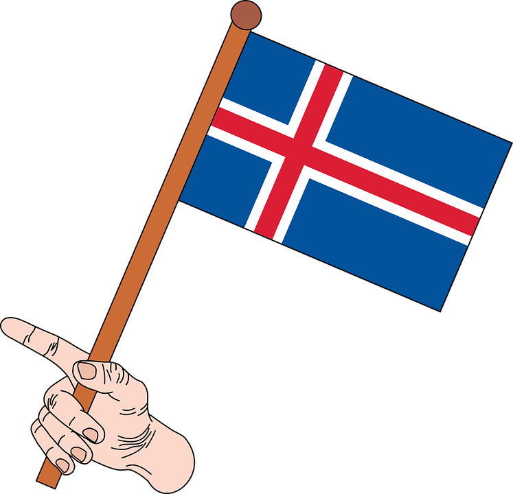 vlag van ijsland - gratis vectorafbeelding op pixabay