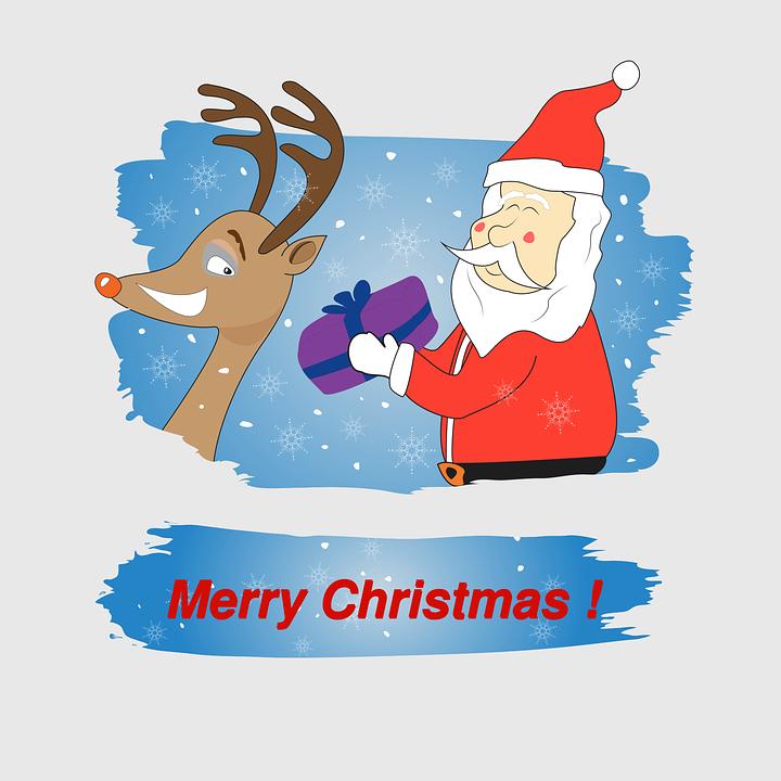 Lustig Weihnachten Santa · Kostenlose Vektorgrafik auf Pixabay