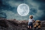 good night, small child, little boy