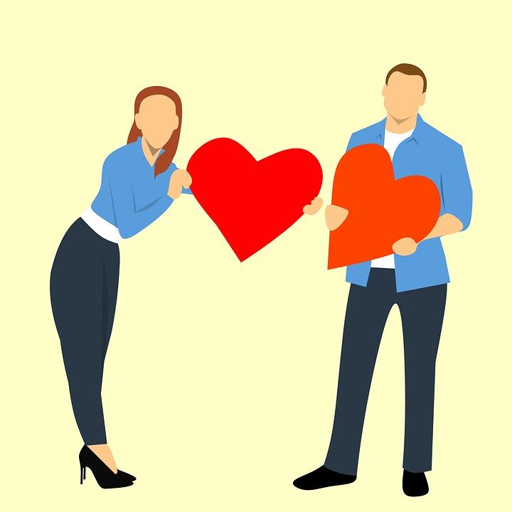 man en vrouw liefde