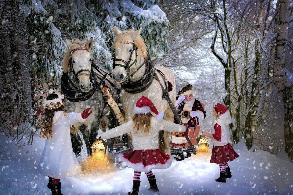 Weihnachtsmann Weihnachten Schnee · Kostenloses Foto auf Pixabay