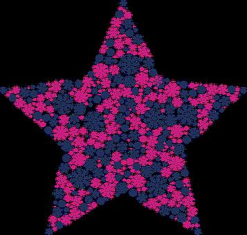 Stjärna, Snöflingor, Mönster, Christmas