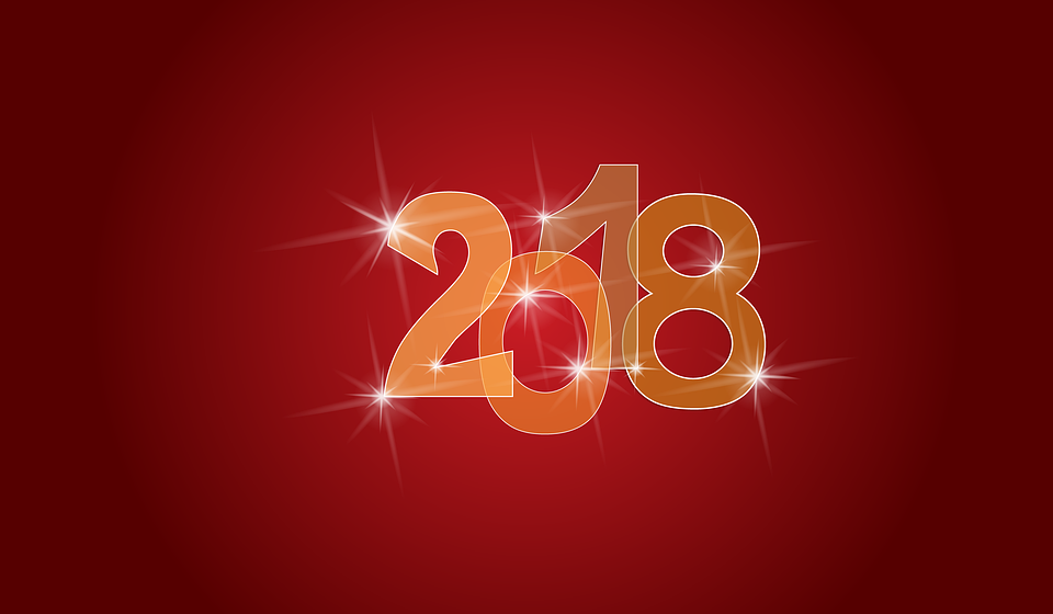 new year 2018 background happy new year