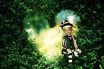fairy tale, green