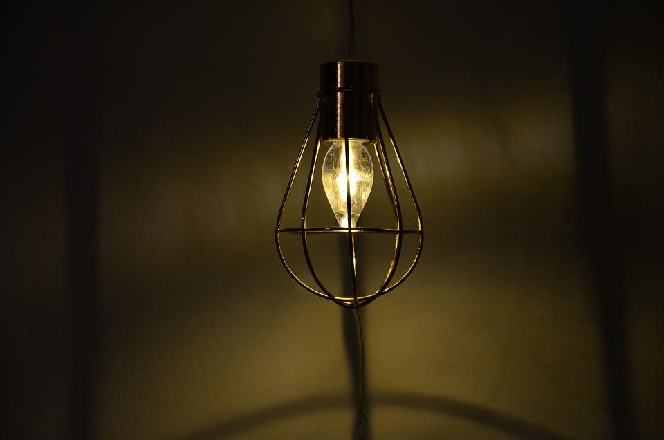 Lichterkette Light Light Bulb Grid Wall Lighting