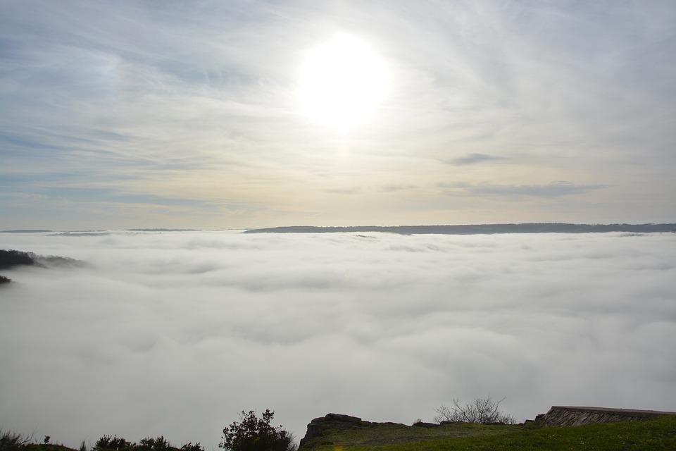 Chmury, Stratus, Niskie Chmury, Widoki