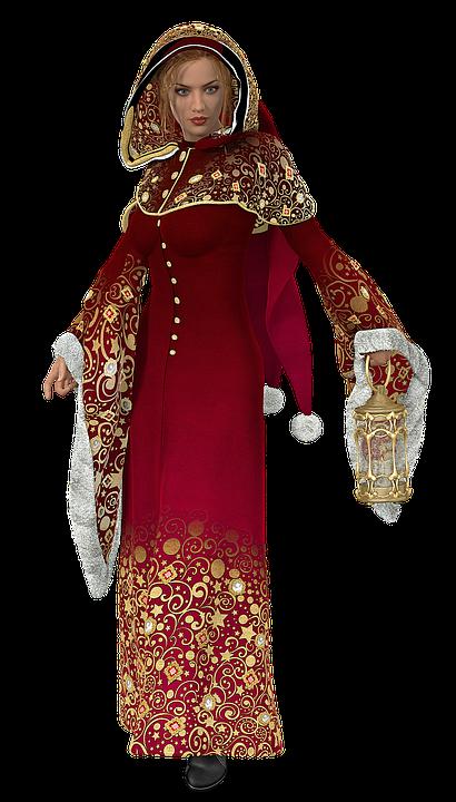 Vianočné Šaty Žena Kostým Lámp - Obrázok zdarma na Pixabay 29daf70dbb2