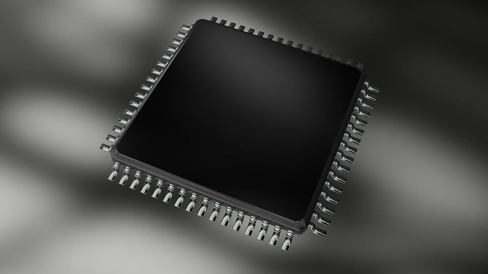 Cpu, Electrónica, Procesador, Chip, Fondo