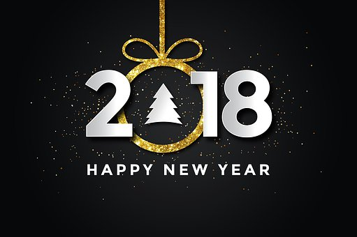 Pf 2018, New Year, Happy New Year