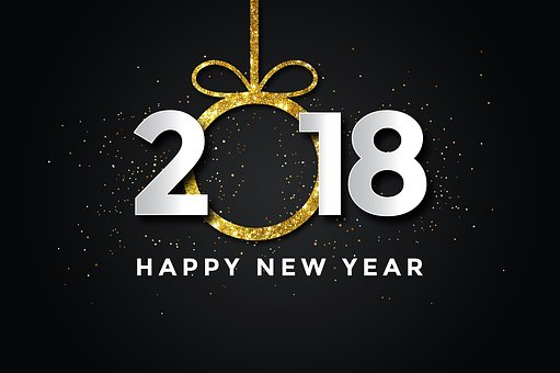 Pf 2018, New Year, Happy New Year, New