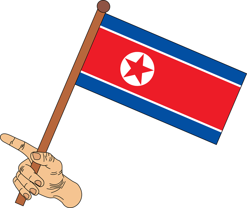 Flag, North Korea Flag, North Korea