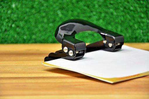 Paper Puncher, File, Office