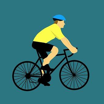 Wheel, Cyclist, Bike, Seated, Active