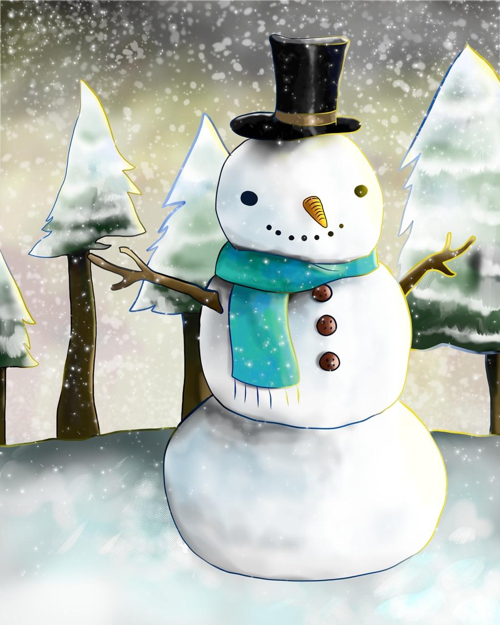 это посмотреть картинки снеговика пожаловать полное солнца
