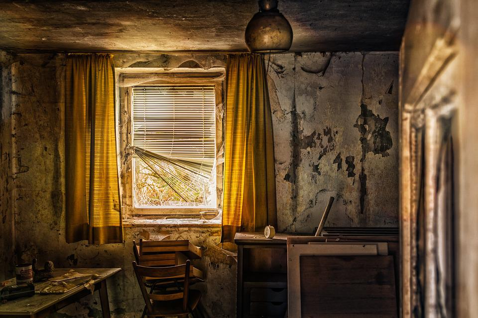Free photo: Living Room, Room, Old, Lost Places - Free Image on ...