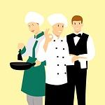 chef, man, restaurant