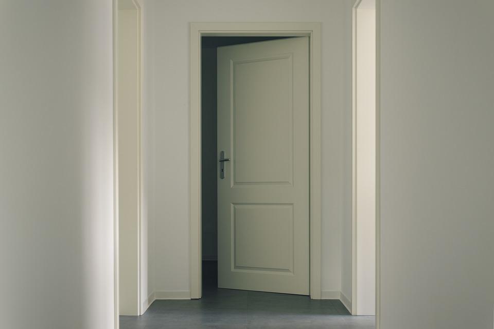 Drzwi, Współczesny, W Ramach, Wall, Architektura, Pokój
