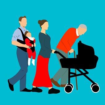 Famille, Père, Mère, Grand Père