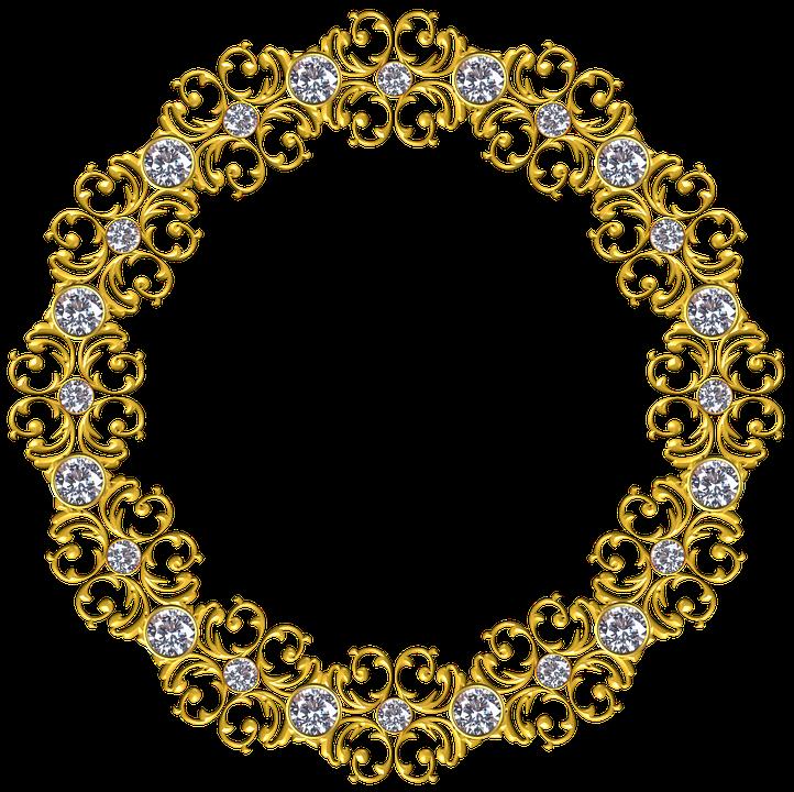 db988e11424d Gold Frame Round - Free image on Pixabay
