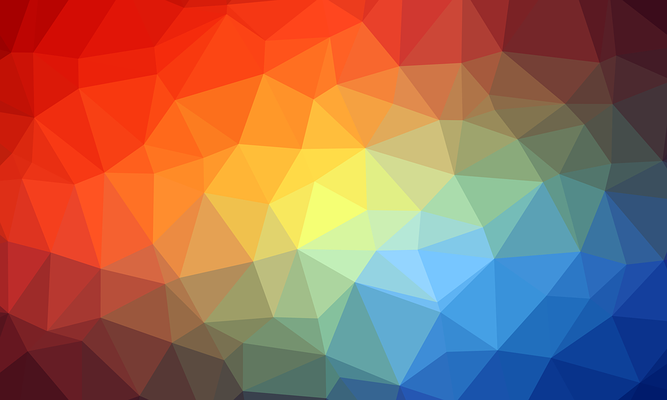 Geometric Triangle Wallpaper Abstract