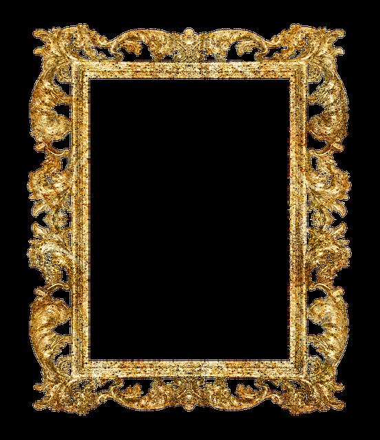 Frames douradas
