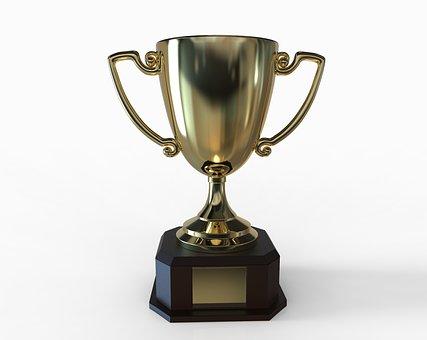 Trophäe, Auszeichnung, Sieg, Gewinner