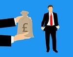 salary, payout, donation