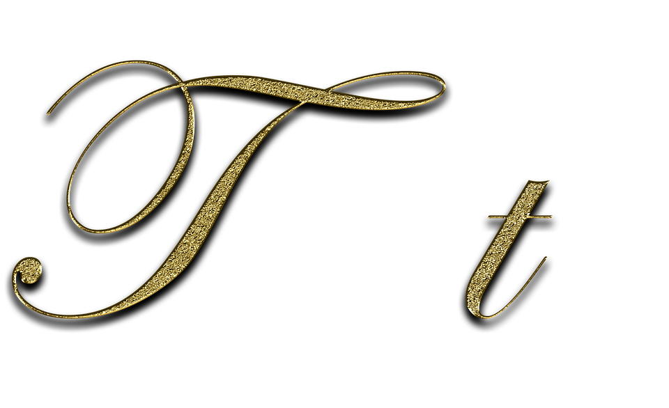 Letter T Gold Free Image On Pixabay