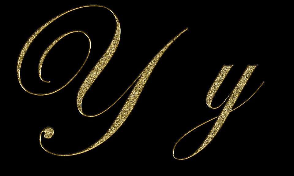 Letter Y Gold Free Image On Pixabay