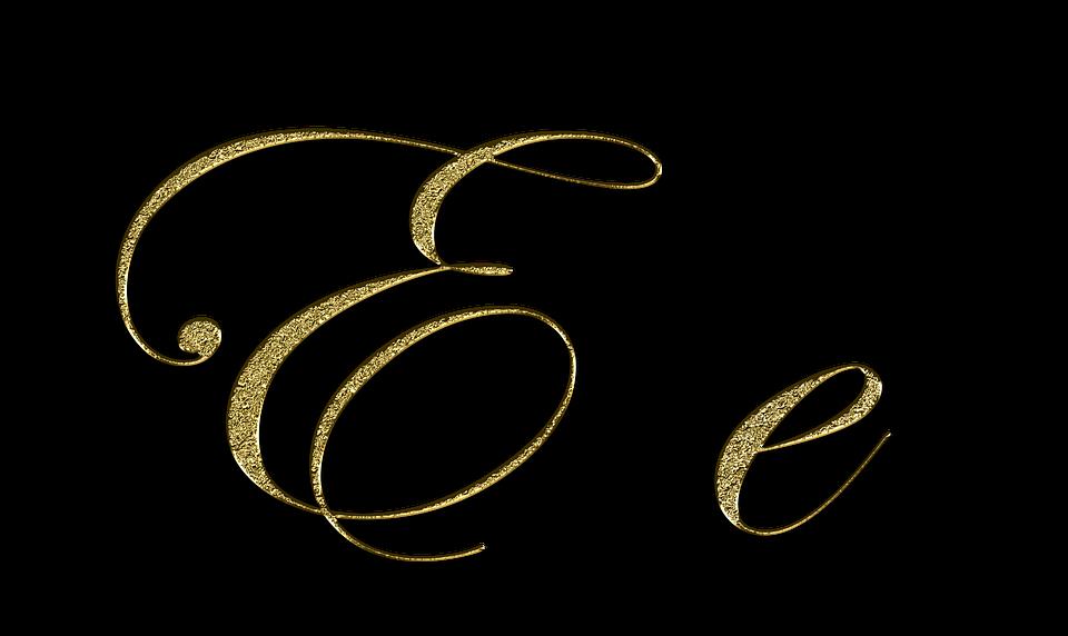 Letter e gold free image on pixabay letter e gold font letter e leave type fonts altavistaventures Images