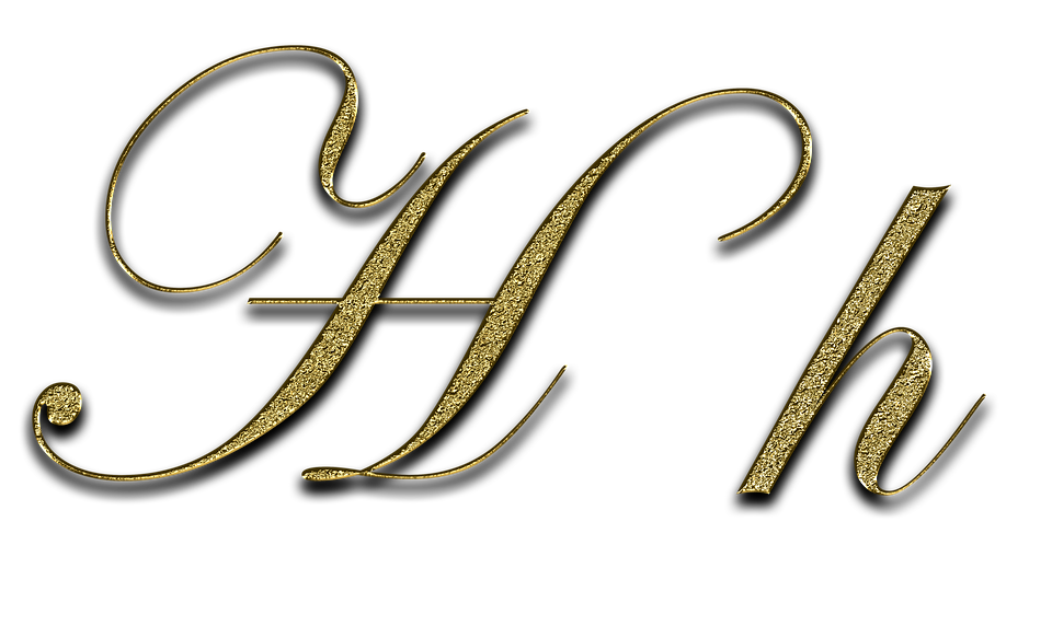 Free illustration Letter H Gold Font Letter H Free Image on