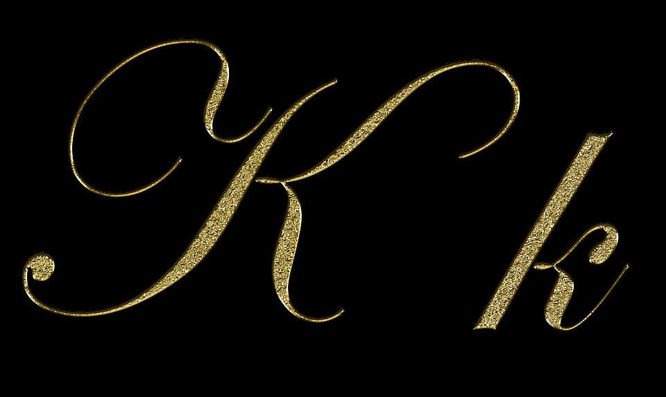 List K Złoto Darmowy Obraz Na Pixabay
