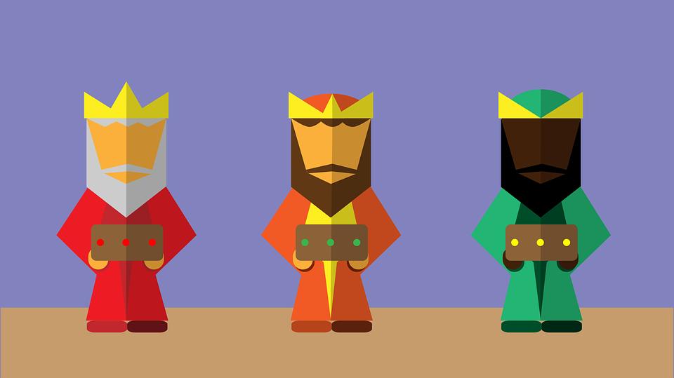 reyes magos flat design  u00b7 gr u00e1ficos vectoriales gratis en pixabay