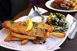 fried, fish