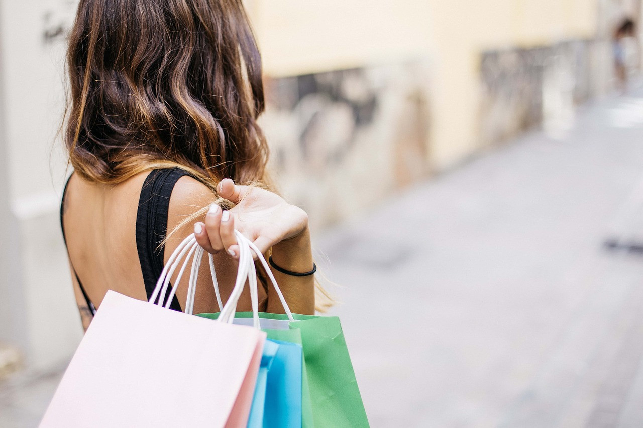 Woman Shopping Lifestyle - Free photo on Pixabay
