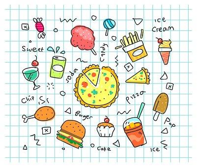 Doodle Coloré, Bicarbonate De Soude